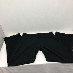 Columbia Size L Women's Black Fleece Pants